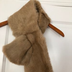 Beautiful Ann Taylor Fur Scarf